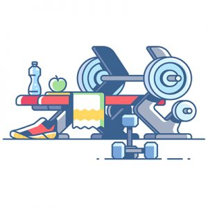 Fitness-Illustration