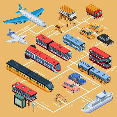 Transport-Illustration